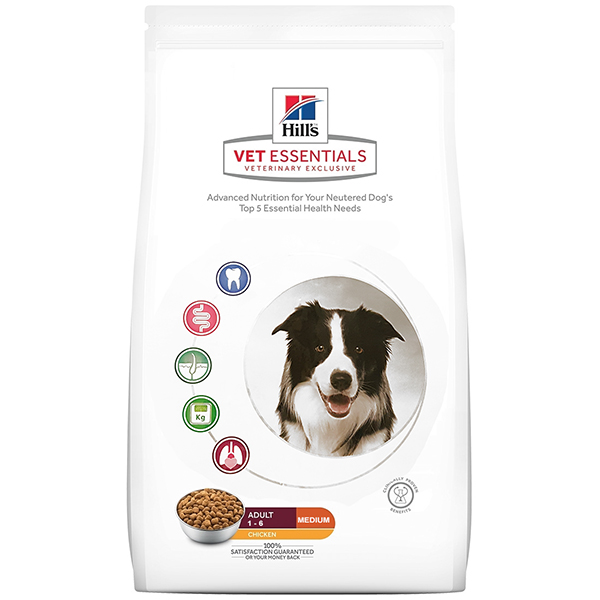 Hill's vetessentials canine adult medium 10kg Image